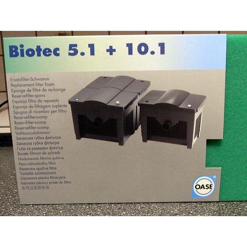 Oase BioTec  5.1//10.1 PRO Ersatzfilterschwamm grün 56679